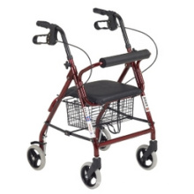 Thr-R9142L Folding Walking Frame with Wheels