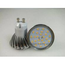 Nuevo Dimmable 2835 SMD 5W GU10 Luz del punto del bulbo del LED