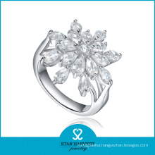 Vogue Oval 925 Sterling Silver Ring with Cheap Price (R-0575)