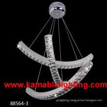 Stainless Steel Crystal LED Lamp (Kam88564-3)