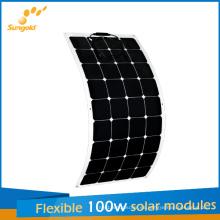 Los nuevos paneles solares flexibles diseñados 100W para China Fabricantes