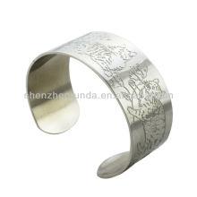 El gato del tigre graba el patrón de las pulseras de los brazaletes de los clásicos de la manera de la joyería tradicional del brazalete de la pulsera de China fabricante