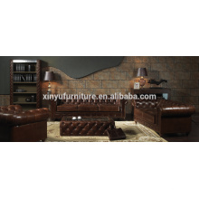 American style chesterfield sofa set A631