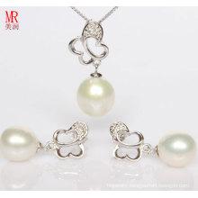 Freshwater Pearl Sets, Pendant, Earrings
