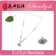 Evil Eye Jewelry handgemachte Glück Evil Eye Bedeutung Silber Halsketten