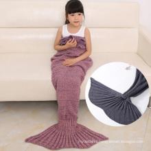 2017 fashion cute children TV sofa blanket knitting wool comfortable soft cozy blanket