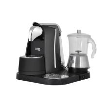 Máquina de café expresso ponto com p / leite de vidro