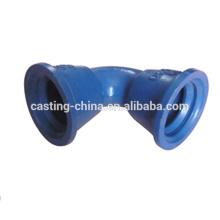 Piezas de cuerpo de válvula de vaciado de inversión de precisión de industria de control de flujo químico