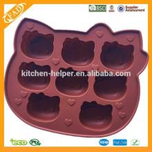 Moldea el tipo de las herramientas de la torta y la característica respetuosa del medio ambiente molde de la torta del silicón