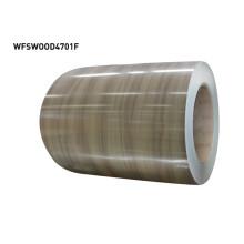 Vorbeschichtete Metallspulen aus Holz