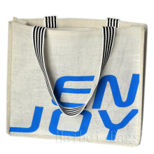 Nouveau sac fourre-tout en jute écologique à faible teneur en carbone et sans pollution (hbjh-7)
