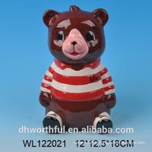 Personalizado Bear Ceramic Saving Bank