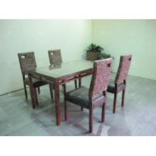 Lujoso diseño jacinto de agua café y comedor conjunto Muebles de interior