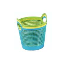 fabricación de moldeo de canasta de lavandería de plástico