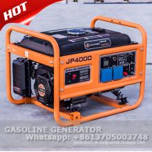 Gerador de gasolina de 2kw 2500 com motor de 5,5hp OHV
