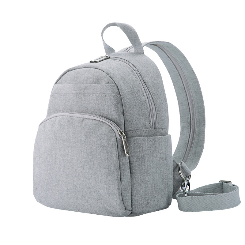 canvas backpack with laptop compartment