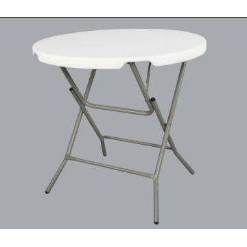 Tables rondes en plastique