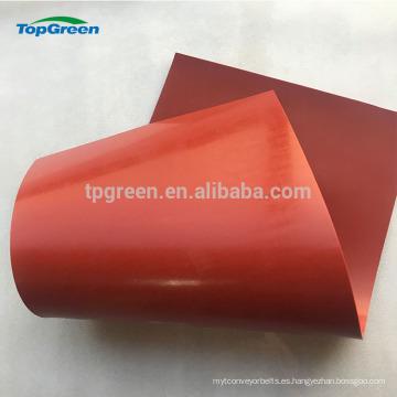 barato hoja de silicio blanco rojo delgada en hojas de goma