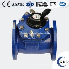 Compteur d'eau de woltman détachable du prix usine, compteur d'eau de gros calibre woltman
