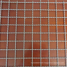 Rough 2.0MM Diameter 2x12MM Hole 316 316L Stainless Steel Crimped Woven Mesh With Long Service Life