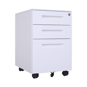 Mobile 3 Drawers Filing Cabinet