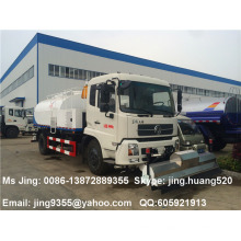 Best quality of 4x2 Dongfeng Tianjin 8,500 liters road pressure water washer truck