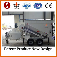 Popular Product Mobile Concrete Batch Plant Price MB1200