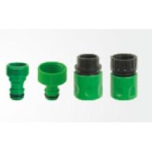 4PCS Schlauchverbinder eingestellt für Garten-Schlauch-Sprinkler