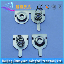 Metal Stamping Manufacturer Offer Battery Contact Plate and AA Battery Contact