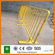ISO shunxing soudé barrières de contrôle des foules