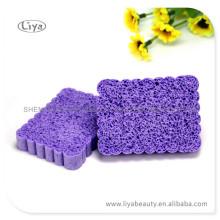 Губка pva прямоугольник фиолетовый высокого качества