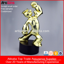 Wholesale Promotional Products Metal Bodybuilding Trophy