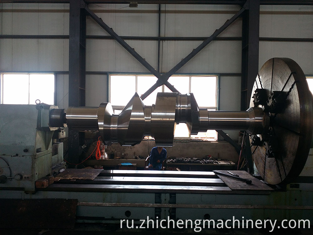 counter rotating crankshaft
