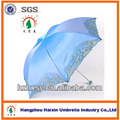 Fabricante China Ladies Chameleon Fabric Parasol Umbrella