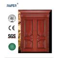 Exterior Villar Wooden Door/Double Leaf Natural Wooden Door (RA-N050)