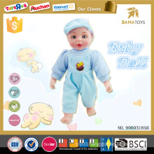 New arrival child doll toy 14 stuffed inch baby doll