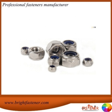 DIN6924 Hex Nuts with Non-Metallic Insert