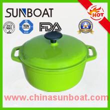 Factory Supply Customized Enamel Tureen/Stock Pot/Soup Pot