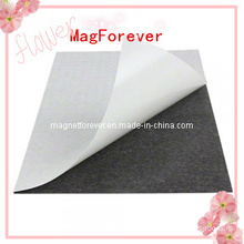 A4 or Custom Isotropic Rubber Magnet Sheet with Adhesive Sticker