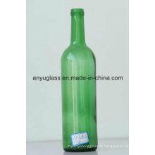 OEM Antique Decal Cork Top Bouteilles de verre à vin rouge / raisin