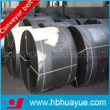 Correia transportadora do cabo de aço resistente ao calor da planta do cimento