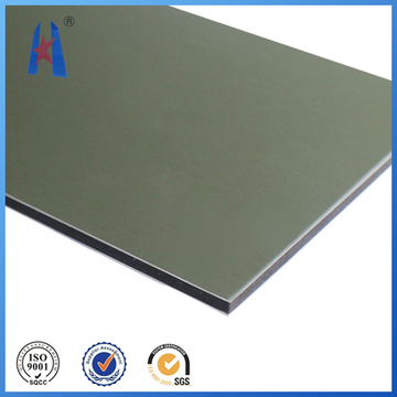 Material de tablero de la muestra al aire libre en el panel de plástico compuesto del aluminio (ACP)