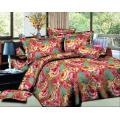 juego de edredón de extensión de cama de tamaño barato conjunto de ropa de cama de lujo por mayor 3d juego de cubertería de cama de dubai impreso 3d
