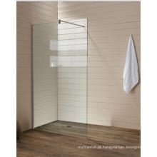 Limpar Tela de Banheiro de Vidro Temperado Telas de Banheira Simples (T1)
