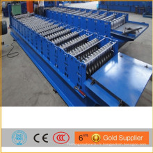 Machine à lames de toit ondulé / machine à profiler