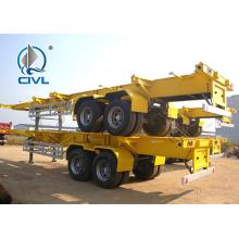 Trailer 2axles của sinotruk cimc