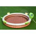Turtle Inflatable Kids Paddling Pool With Sprinkler