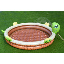 Piscina infantil Turtle Air con aspersor