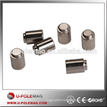 Various Size Neodymium Cylinder Magnets for Industry