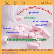Crosscarmellose Sodium,USP35/EP/CP,Disintegrating Agent,Tablet